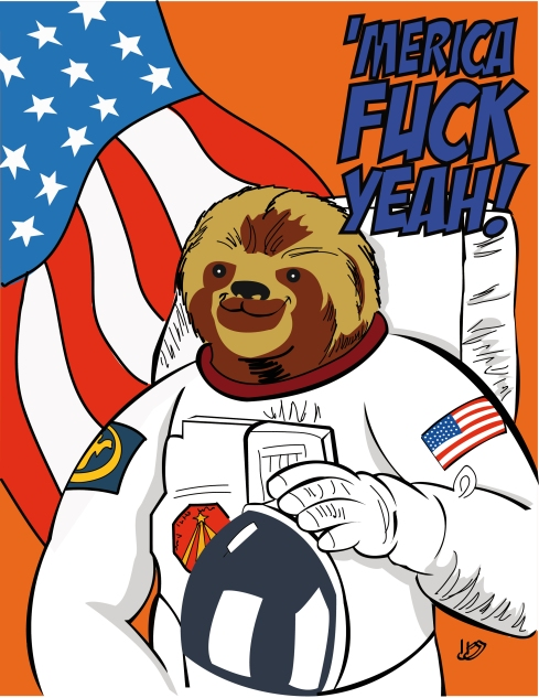 Astro-sloth